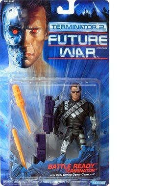 TERMINATOR 2 Future War Battle Ready w/ Dual Swing-Down Cannons