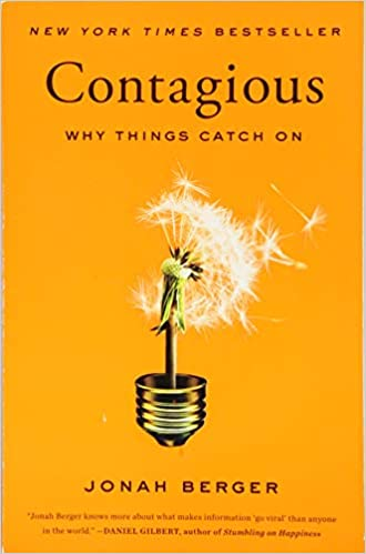 Book Title - Contagious: Why Things Catch On