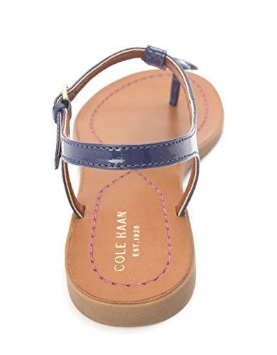 Cole Haan Womens Escape Logo Flat Sandal Open Toe Casual Ankle Strap