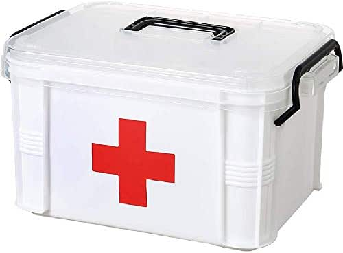 CANGQ First Aid Kit Waterproof Plastic Storage Box Portable Outdoor Travel Car Drug Pack Security Emergency Kits Medical Treatment