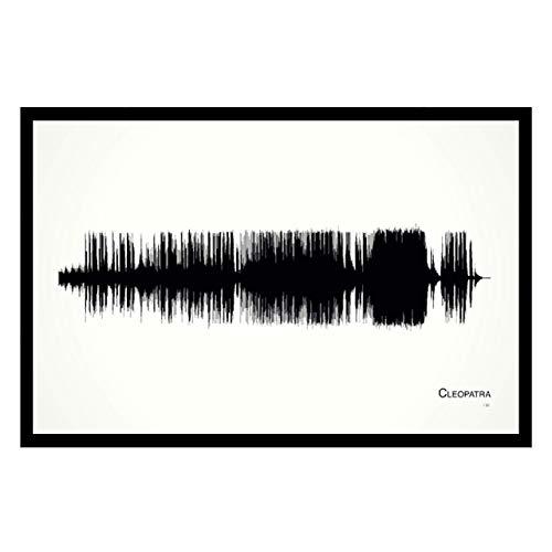 Cleopatra - 11x17 Framed Soundwave print