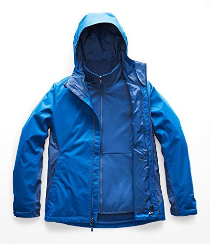 - The North Face Women's Arrowood Triclimate Jacket - Bomber Blue & Turkish Sea - L