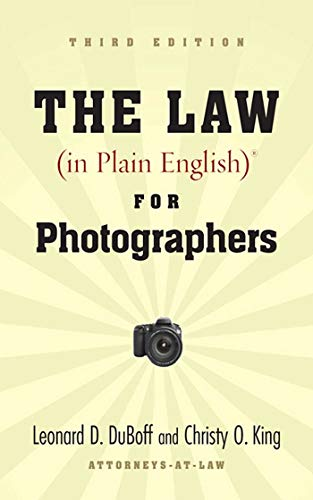 Image of The Law (in Plain English) for Photographers