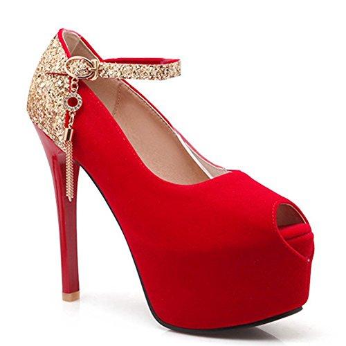 Red DoraTasia Ballerine Red donna donna Ballerine DoraTasia Ballerine DoraTasia donna zzqZwfxr