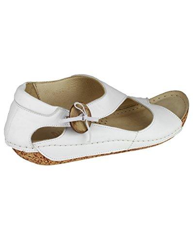 Riva - Sandalias de vestir para mujer Blanco blanco Blanco - blanco