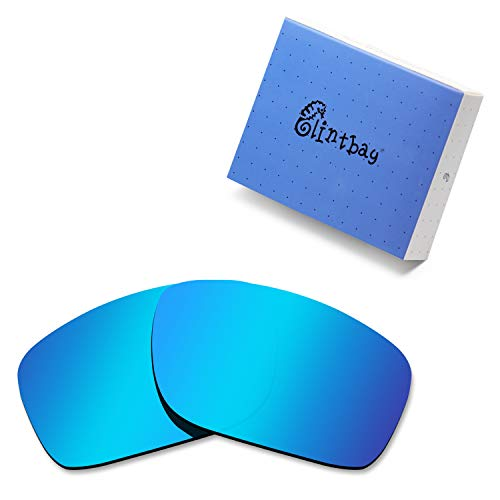Glintbay 100% Precise-Fit Replacement Sunglass Lenses for Oakley Mainlink - Polarized Ice Blue ()