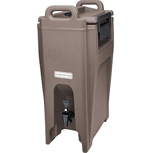 - Cambro UC500194 Granite Sand Ultra Camtainer 5.25 Gallon Insulated Beverage Dispenser