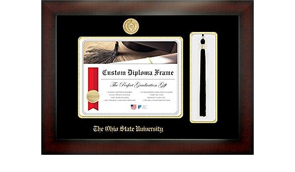 Celebration Frames Infinity Diploma Frame Mahogany