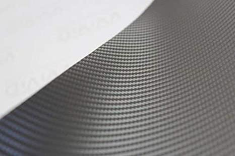10ft x 5ft VViViD XPO Dark Grey Carbon Fiber Car Wrap Vinyl Roll with Air Release Technology