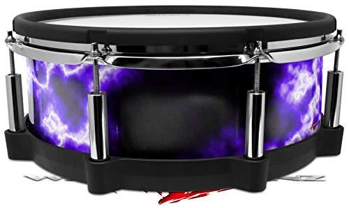 Skin Wrap Compatible with Roland PD-140DS Drum Electrify Purple (Drum NOT ()