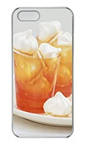 Two Cups Of Delicious Desserts Polycarbonate Plastic Hard Case for iPhone 5S and iPhone 5 Transparent