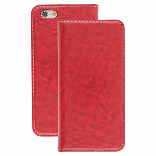 Stunning Style Apple iphone 5 Case cover, Apple iPhone 5 Red Designer Style Wallet Case Cover