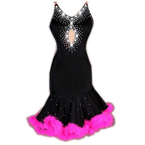 絶妙なデザイン garuda 良い品質 社交ダンス衣装 2色揃え レディース競技ラテンドレス セミオーダー対応 良い品質 2色揃え S~XXL B07RB63X9C S~XXL Large|黒+ピンク 黒+ピンク Large, gallo オンラインショップ:c9da0c5e --- a0267596.xsph.ru
