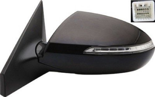 (Go-Parts OE Replacement for 2011-2016 Kia Sportage Side View Mirror Assembly/Cover/Glass - Left (Driver) Side 87610 3W570 KI1320150)