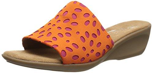 Aerosoler Kvinners Badminton Sandal Oransje Combo
