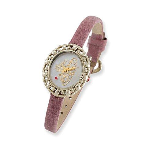 Ladies Vivienne Westwood Rococo Pink Strap Watch