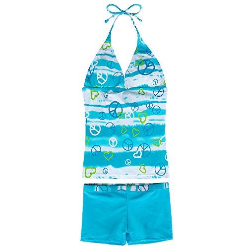 New 2 Piece Girls Swimsuit - 5