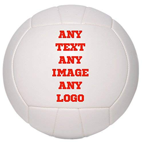 (Personalized Custom Photo Regulation Full Size Volleyball - Any Image - Any Text - Any Logo)