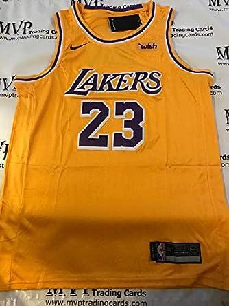 d4bd5e8c0779 Amazon.com  Lebron James Gold Los Angeles Lakers Men s Size Small ...