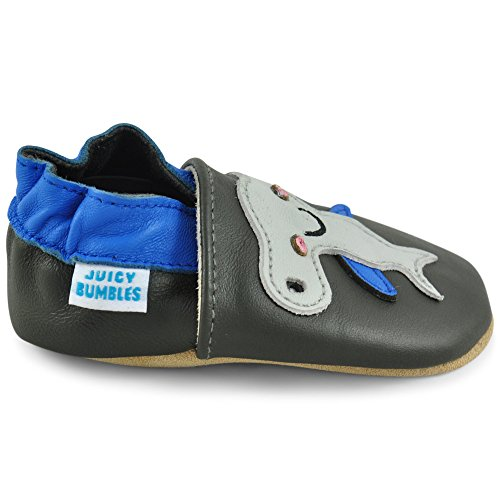 Pasos Para 12 18 12 Zapatitos Niño Zapatos – Zapatillas Bebe Pantuflas Elástico 0 Niña 18 Infantiles 6 De Con Bebé 24 Tiburón Alegre Primeros Cuero Patucos 6 Piel Meses qPnZ4g