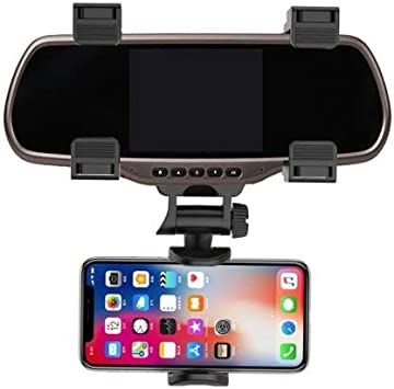 HaiMa Universal Smartphone Holders Coche Espejo Retrovisor ...
