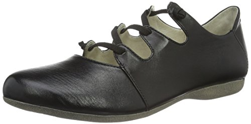 Josef Seibel Womens Fiona 04 Criss Cross Flat Black
