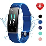 Letsfit Fitness Tracker HR, Activity Tracker with Step Counter,IP68 Waterproof Pedometer with Calorie