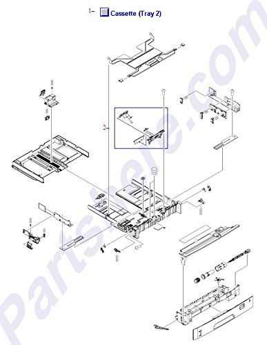 HP RM1-2479-060CN 250-sheet paper cassette - For tray 2 assembly