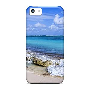 DAMillers Scratch-free Phone Case For Iphone 5c- Retail Packaging - Cat Isl Beach