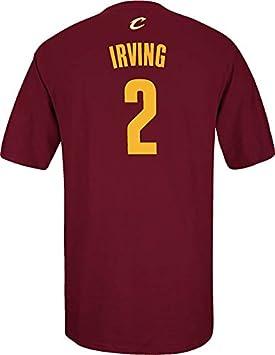 Adidas NBA Cleveland Cavaliers Kyrie Irving # 2 Hombres de la Serie 7 Nombre y número Camiseta de Manga Corta, Talla XXL, Color marrón: Amazon.es: Deportes ...