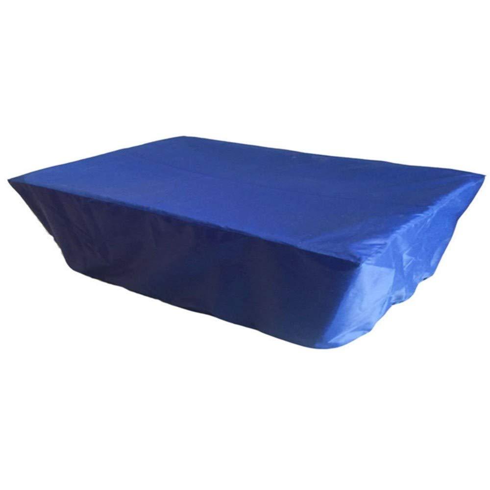 SCAHUN Copertura Mobili Giardino Impermeabile Copertura Antipioggia Antipolvere Antipioggia per Tavolo da Ping Pong E Telo Oxford,Grey-240/×130cm