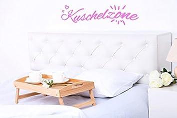 Amazon.de: Schlafzimmer Wandtattoo mit Aufschrift, Kuschelzone ...
