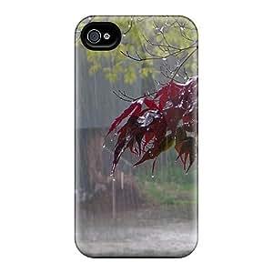 RvJ10950SvTk Anti-scratch Case Cover RomeoJr Protective Cold Fall Rain Case For Iphone 4/4s