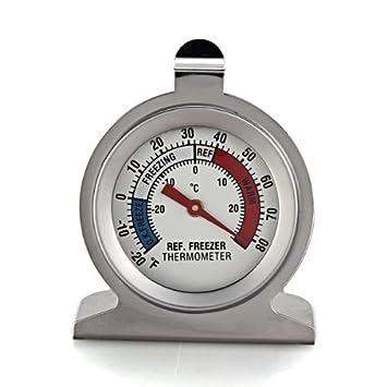 Termómetro para Refrigerador Congelador Nevera Frigorífico con Soporte Colgante: Amazon.es: Electrónica