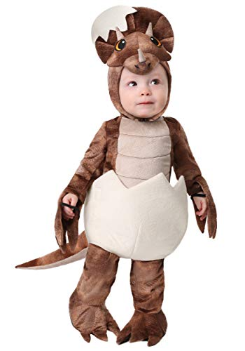 Baby Dinosaur Egg Costumes - Toddler Tiny Dinosaur Costume - Triceratops