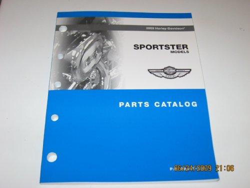 Harley Parts Catalog - 2003 Harley Davidson XLH Sportster Models Parts Catalog