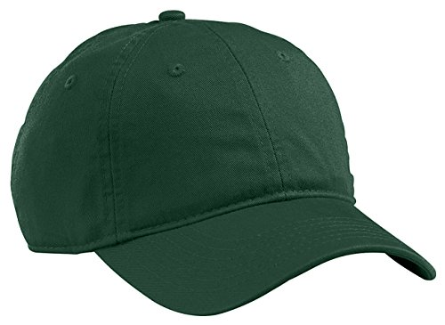 econscious Organic Cotton Twill Unstructured Baseball Hat OS Emerald Forest - Forest Green Baseball Hats