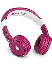 Głośnik dźwiękowy: słuchawki dla dzieci pasujące do Toniebox - regulacja głośności, zdejmowany kabel, regulowany rozmiar, ruchome nauszniki