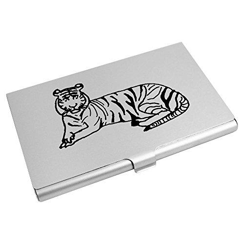 Tarjeta De Azeeda Visita Billetera Tarjeta ch00001871 'tigre' De Crédito Titular v6Iwq