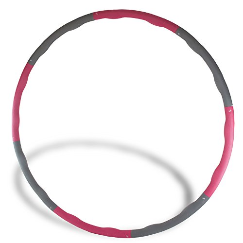 the-friendly-swede-265-lbs-weighted-core-toning-fitness-exercise-hula-hoop-40-diameter