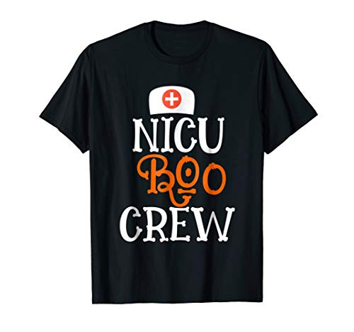 NICU Boo Crew Halloween Nursing Novelty Costume -