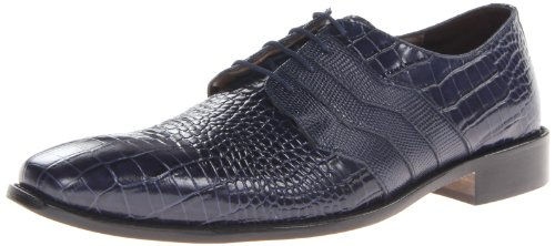 Stacy Adams Mens Gabino Oxford Mörkblå
