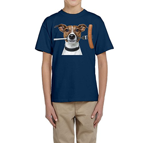 ^GinaR^ Youth Jack Russell Terrier Cool T-shirt Tee L