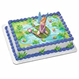 Fairy Cakes - Fairy in The Garden Licensed Re-usable Topper 5 Piece Set