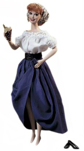 I Love Lucy - Lucy's Italian Movie Barbie