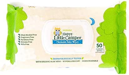 Toddler Wipes: Happy Little Camper