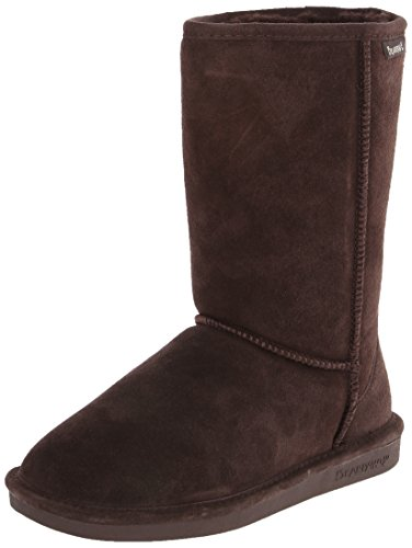 BEARPAW Women's Eva Snow Boot,Chocolate,10 M - Old Tory Burch Collection