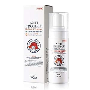 [YADAH] Anti Trouble Bubble Cleanser 150ml for Pimple, Acne, Blackhead