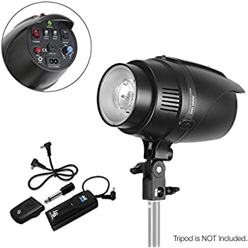 Amazoncom Ls Photography Flash Strobe Light 200 W Sync Cord
