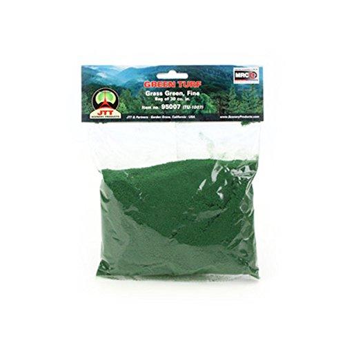 JTT Landscaping Material - Green Turf, Grass Green, Fine